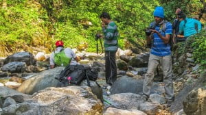 Photography Workshop at Neel Ganga river
