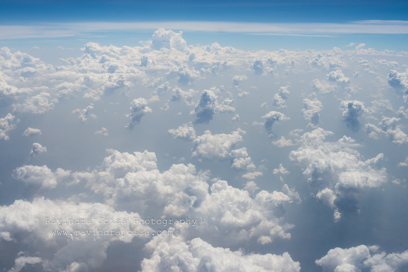 Cloud as view from aeroplane
