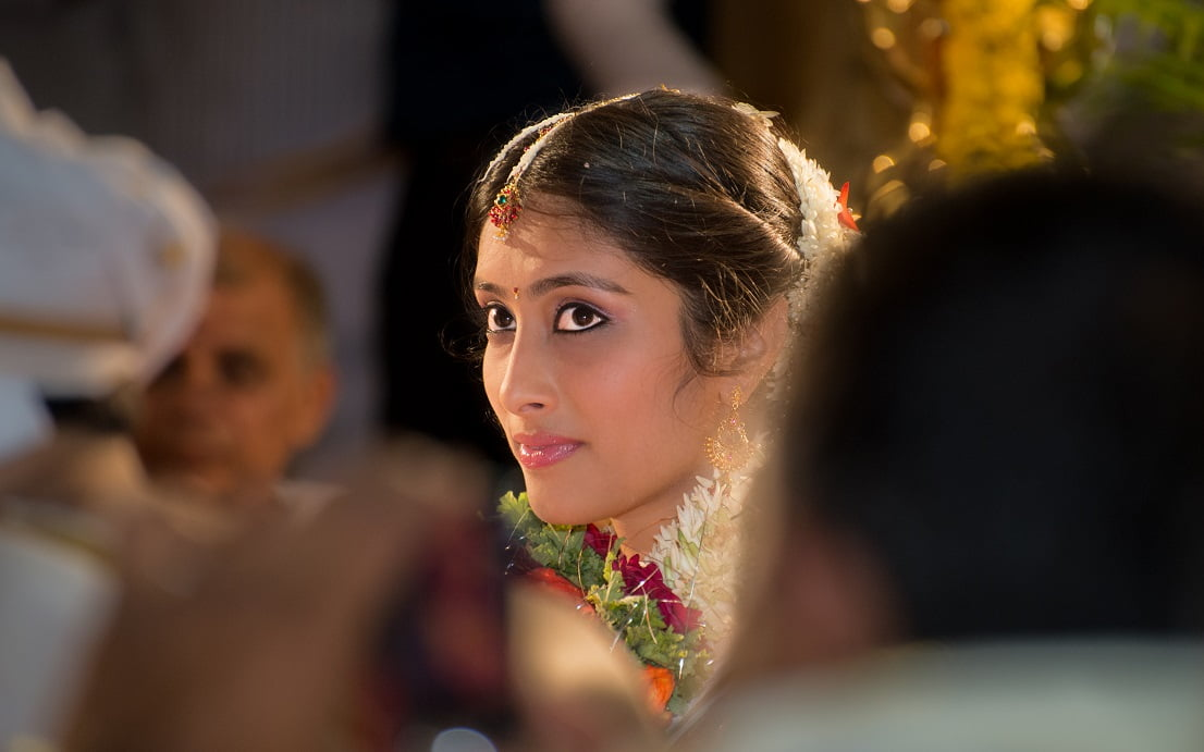Candid Indian Wedding - Bride