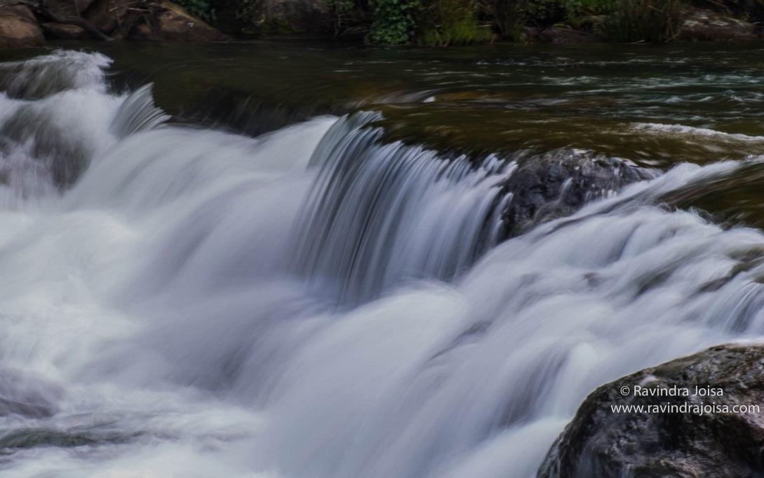 Pykara waterfalls long exposure shot