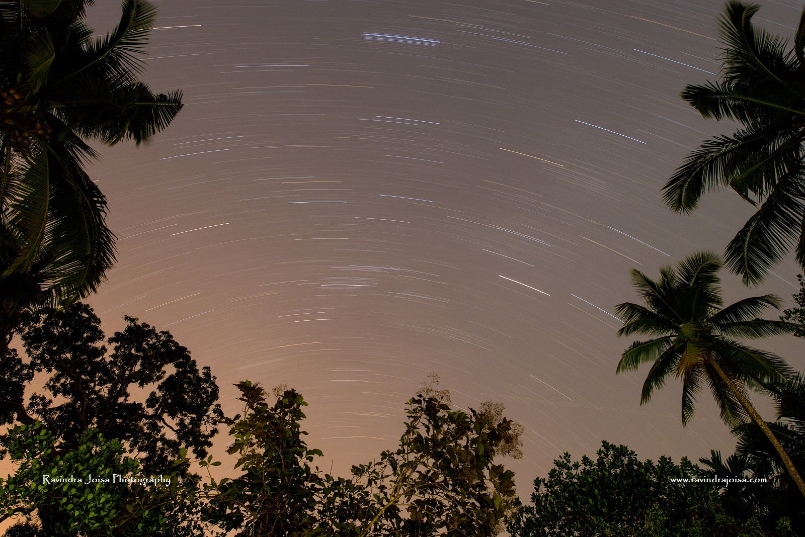 capturing star trails