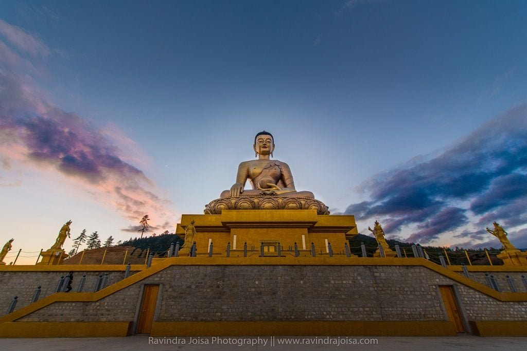 Largest statue of Buddha Dordenma